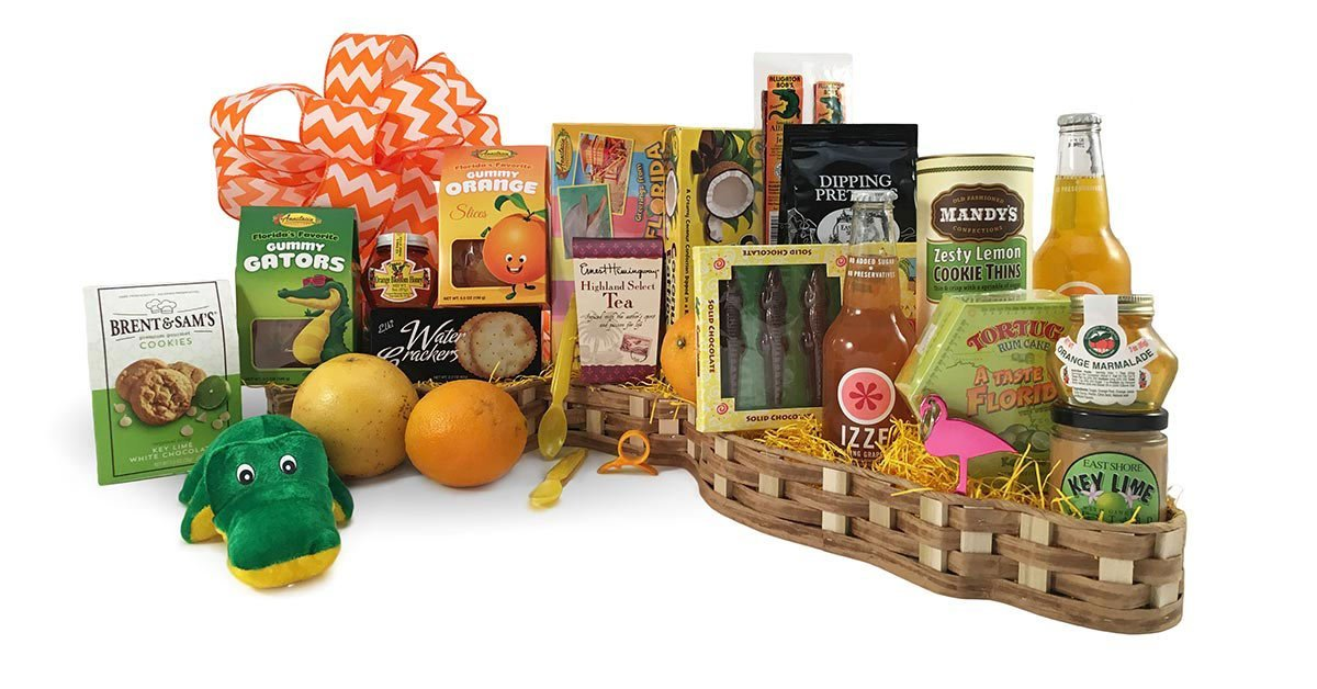 Website Redesign for Orlando Gift Baskets by CREATE180 Design