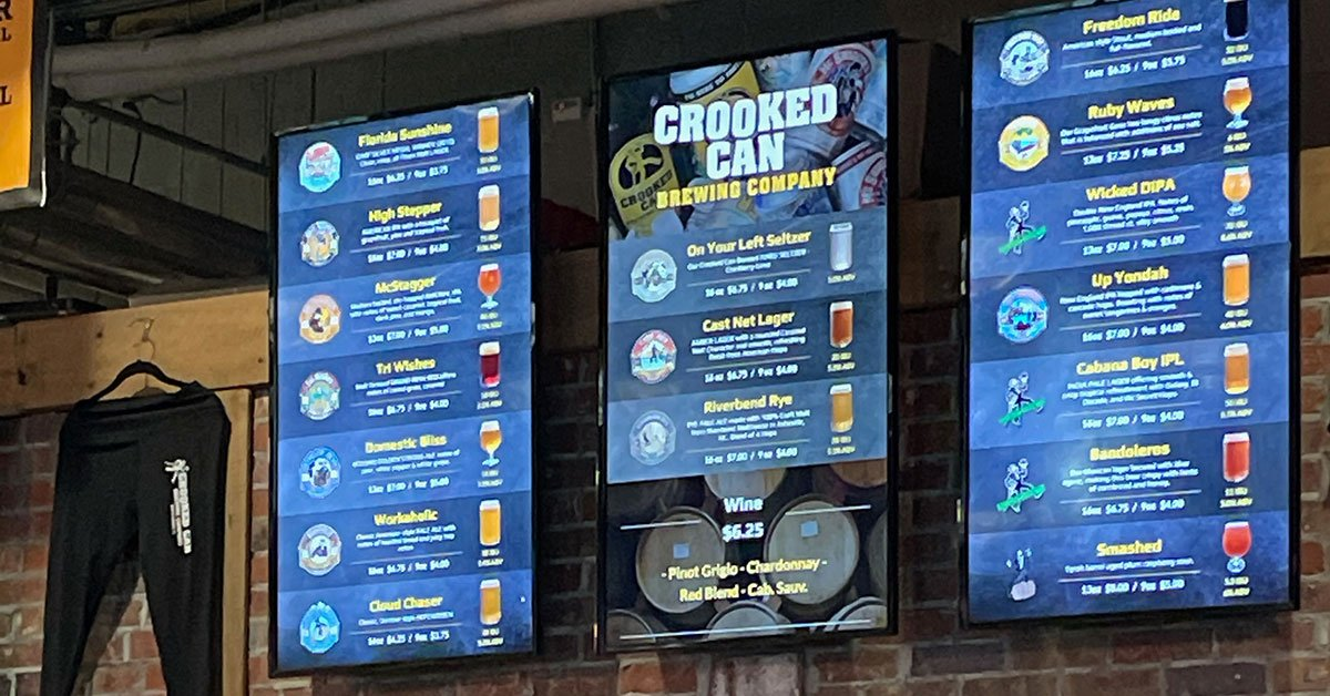 Spotlight on Crooked Can Brewing Company in Winter Garden